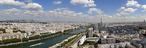 Paris panorâmico Imagens de Stock Royalty Free