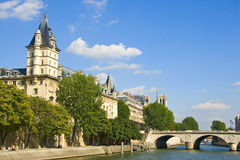 Paris Panorama. Royalty Free Stock Photography