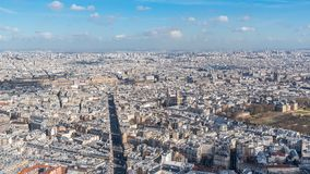 Paris, panorama images libres de droits