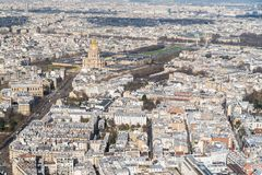 Paris, panorama photo stock