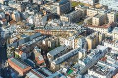 Paris, panorama photographie stock