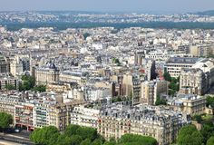 Paris panorama Stock Photography