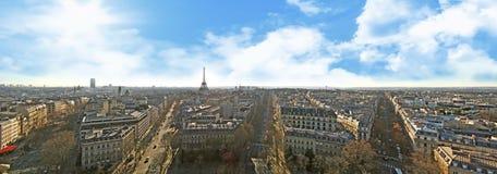Paris panorama Royalty Free Stock Photos