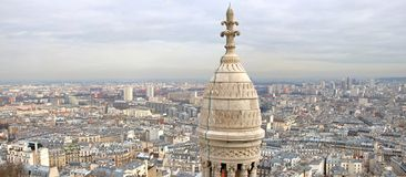 Paris Panorama Stock Images
