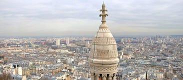 Paris-Panorama stockbilder