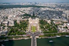 Paris panorama II stock photos