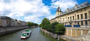 Paris - panorama judicial police Stock Photo
