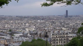 Paris panorama from Montmartre Stock Image