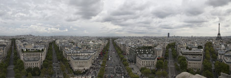 Paris panorama Royalty Free Stock Images