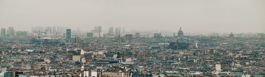 Paris panoramic view Stock Photography