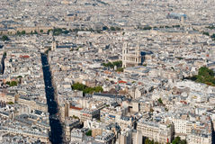 Paris, panoramic view on St. Sulpice Church from M Stock Photography