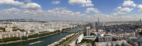 Paris panoramisch Lizenzfreie Stockbilder