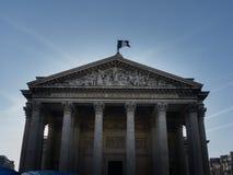 Paris panteon Arkivfoton