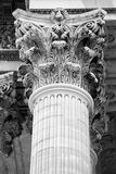 Paris Pantheon column Stock Photo