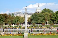 Paris park Stock Photos