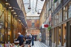 Paris, Passage Jouffroy with bookshop Stock Photography