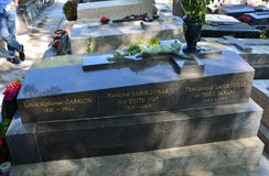 Paris - Pere Lachaise. Royalty Free Stock Image