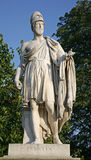 Paris - Pericles statue. From Tuileries garden Royalty Free Stock Image