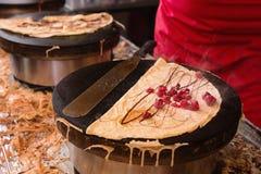 Paris-Pfannkuchen Stockfotografie