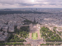 Paris. Photo from Tour Eiffel, Paris Stock Photo