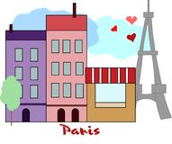 Paris royalty free illustration