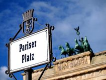 Paris Place in Berlin Stock Photo