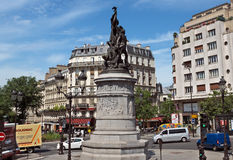 Paris - Place de Clichy Stock Images
