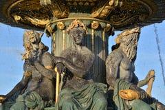 Paris, Place de Concorde Stockbilder