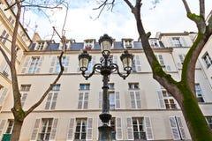 Paris - Place de Fustemberg Stock Photo