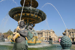Paris Place de la Concorde Royalty Free Stock Photo
