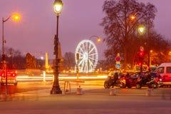 Paris. Place de la Concorde. Royalty Free Stock Images