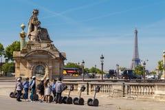 Paris, Place de la Concorde. Royalty Free Stock Image