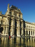 Paris. Place de Louvre royalty free stock image