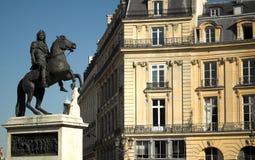 Paris - Place des victoires Stock Image