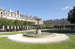 Paris, The Place des Vosges Stock Images