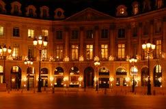 paris place vendome στοκ φωτογραφία με δικαίωμα ελεύθερης χρήσης