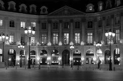 paris place vendome Στοκ φωτογραφίες με δικαίωμα ελεύθερης χρήσης