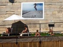 Paris plage Royaltyfri Bild