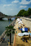 Paris Plages 2014 Royalty Free Stock Image