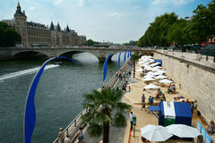 Paris Plages 2014 Royalty Free Stock Photo