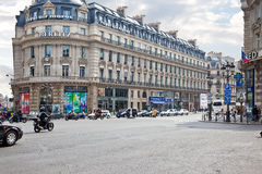 Paris. Plaza Opera Royalty Free Stock Photos
