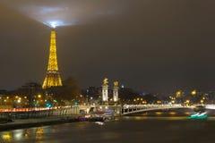 Paris. Pont Alexandre 3. Stock Photography