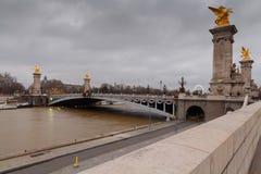 Paris. Pont Alexandre 3. Stock Photo