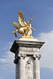 Paris Pont Alexandre III Royalty Free Stock Image