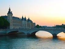 Paris Pont auändring Royaltyfri Fotografi