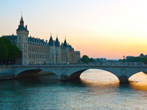 Paris, Pont-Au Änderung Lizenzfreie Stockfotografie