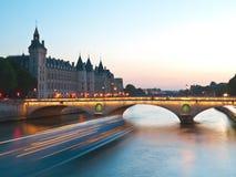 Paris, Pont-Au Änderung Stockfotografie