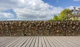 Paris, Pont de Arts Stock Photos