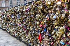 Paris, Pont de Arts Royalty Free Stock Photos
