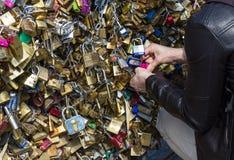 Paris, Pont de Arts Royalty Free Stock Photo